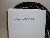 IMPIANTO ELETTRICO ELECTRICAL WIRING MOTO GUZZI LODOLA 175 CON SCHEMA ELETTRICO