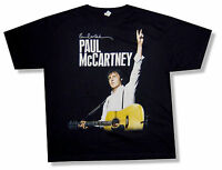 Paul Mccartney Ny Event 2011 On The Run Tour Black T Shirt Beatles New Official