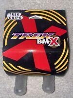 Trek X Bmx MTN  Grips Clear 97 NOS Mid, Old School Rare NIP