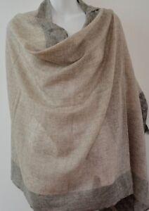 Cashmere Scarf Shawl Pashmina Soft Wool Winter Warm Wrap 200x70cm Nepal EU2007