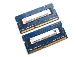 Hynix HMT451S6BFR8A-PB 8GB (2 x 4GB Kit) PC3L-12800S-11-13-B4 DDR3 Laptop Memory
