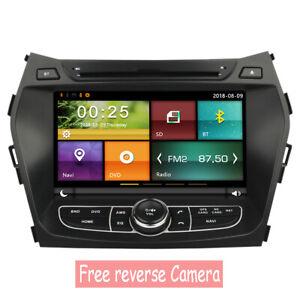 Car DVD GPS Navigation Radio Stereo For Hyundai IX45 Santa Fe 2013 - 2018
