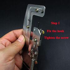 durable Stainless Steel Semi Automatic Fishing Hook Line Tier Tie Binding Tools