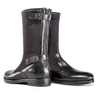 Dainese Stone72 Boots Classic Vintage Black Leather Motorcycle Boots NEW