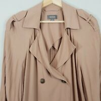 [ SUSSAN ] Womens Trench Coat Jacket  | Size AU 14