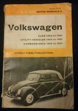 Volkswagen Car Service & Repair Manuals