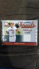 AARON BAKER 2009 DONRUSS ELITE EXTRA EDITION THROWBACK THREADS JERSEY PATCH RC!!