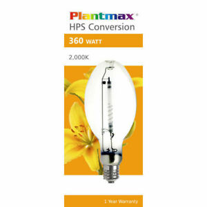 Plantmax 360w. HPS Conversion Lamp New in Box! Discreet Shipping!