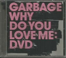 GARBAGE Why Do You Love me w/ RARE REMIX & 2 VIDEO & INTERVIEW DVD Single SEALED