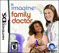 NINTENDO DS NDS GAME IMAGINE FAMILY DOCTOR  BRAND NEW