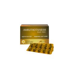 Ayurveda Kerala Amruthotharam Kwath Tablet 100tab Free Shipping