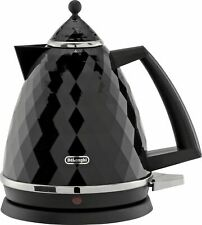 De'Longhi KBJ3001 Brillante 360 Base Rapid Boil Kettle 3kW 1.7L - Black