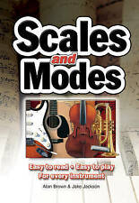 Scales and Modes: Easy to Read - Easy to Play - for Every Instrument by Jake Jac