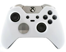 """""""Soft Touch White"""" CUSTOM PAINTED Microsoft Xbox One Elite Wireless Controller"""