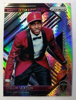 2018-19 Panini Prizm Luck of the Lottery Hyper Prizm Collin Sexton Rookie RC #8