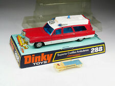 DINKY TOYS - 288 - Peu courant - Superior Cadillac Ambulance - Falck Danish Exp