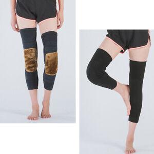 Kneepad Thermal Knee Brace Knee Support Fleece Lined Compression Sleeve T