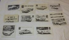 Huge Lot of 11 Different Amt Model Car Vehicle Kit Instructions Manuals Only