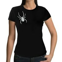 Lady Hale Spider Brooch Ladies Womens T-shirt Top - UK Politics Boris Johnson