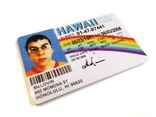 McLovin SUPERBAD Plastic ID Card - Film Novelty Prop