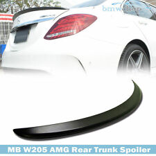 STOCK IN USA ▶ Unpainted Trunk Spoiler Wing MB Benz C-Class W205 4D C180