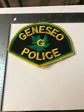 G IL Geneseo Illinois Police Patch used