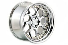 AODHAN DS-01 18x10.5 5x114.3 +15 Vacuum w' Gold Rivets (PAIR) wheels
