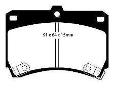 Mazda 323 2.0 /& Mx-5 1994-98 Ebc Ultimax Rear Brake Pads Dp1003