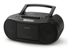 Sony CFD-S70 Classic Boombox Built In CD Cassette Player AM FM Radio Black