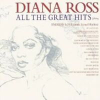 "DIANA ROSS ""ALL THE GREATEST HITS"" CD NEUWARE"