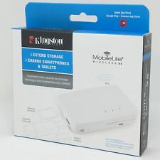 Kingston MobileLite G3 Wireless Backup Battery Power iPhone iPad Samsung Galaxy