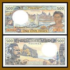 New listing New Caledonia 500 Francs, 1985-1992 P-60e Unc