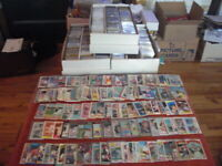 HUGE LOT 500+ BASEBALL CARDS IN UNOPENED PACKS CELLO'S RACK's + 50 STARS 1976-00