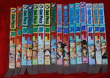 ONE PIECE Manga Series 24,25,26,27,28,29,30,31,32,33,34,35,36,37,38,39 English