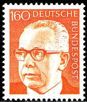692 postfrisch BRD Bund Deutschland Briefmarke Jahrgang 1971