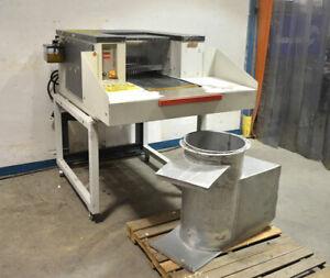 Schleicher 1650-11.8CC Industrial Paper Shredder Heavy-Duty 10Hp Conveyor Feed