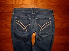 WILLIAM RAST Low Rise SKINNY LEG Stretch Jeans Sz 26 W 28 x L 33