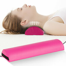 Pink Comfortable Massage Pillow Half Round Massage Bolster for Neck/Back/Knees