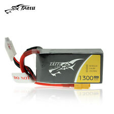 Gens Tatuu 1300mAh 45C 4S 14.8V Lipo Battery XT60 Plug for Racing FPV Quadcopter