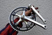 vintage rennrad kurbel crank set Gipiemme Crono Sprint 53/42 crankset 170mm