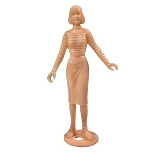 Vintage Rare MPC Teenettes Unpainted Woman Figure #13 for Model Kits