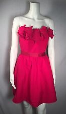 C. Luce S Fuschia Pink Strapless Fit & Flare Dress MOVING SALE