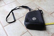 Genuine Canon Digital Camera IS Lens Pouch Shoulder compact bag strap EUC zipper