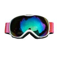 Children Durable Ski Goggles Winter Eyewear Ski Skating Snow Glasses Anti-Fog