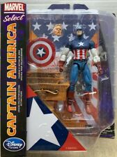 Marvel Select Captain America With Steve Rogers Head Shield Base Diamond (MISP)