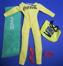 "COCA COLA AEROBIC FASHIONS OUTFIT Barbie SINDY LINDSEY DREAM GIRL 11.5"" Doll"