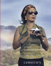 Auction Catalogue Christie's Australia Contemporary Art May 24, 2005 with Prices