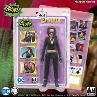 "DC BATMAN retro classic TV series 6 Julie Newmar CATWOMAN 8"" mego figure NEW!"