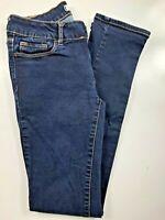 """Bullhead Black Skinny Low Rise Dark Wash Women's Jeans Size 3. 24x30x7"""""""