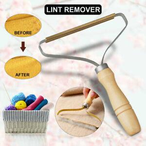 Portable Lint Remover Pet Clothes Fur Fuzz Shaver Trimmer Manual Roller Reusable